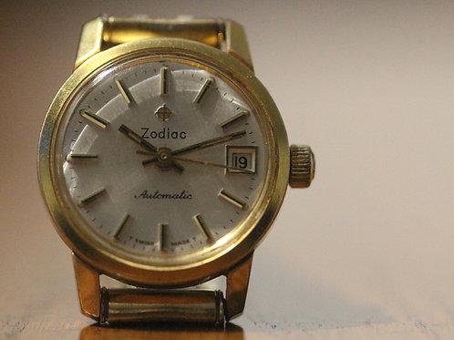 1965 Zodiac Ladies dress watch with automatic movement ETA 2552 Zodiac 46-47