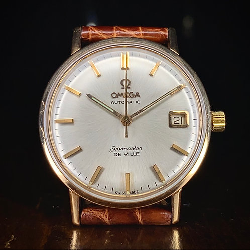 1960s 18ct Pink Gold Omega Seamaster Deville watch, cal. 562, Ref 14910 SC-62