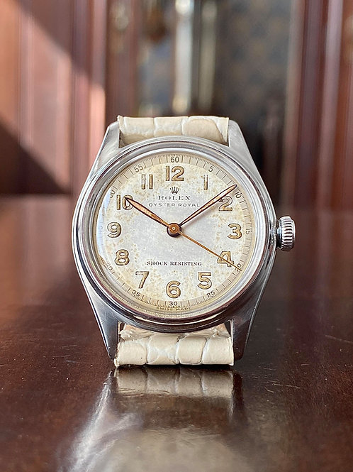 1947 Rolex Oyster Royal Reference 4444, all original, serviced, Rolex cal 710