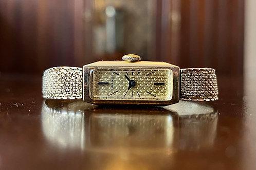 1969 Longines Wittnauer 10k GF watch, Champion bracelet, 3124-510, ladies