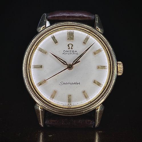 1950s Omega Seamaster dress watch, 2832-3SC , auto cal. 471, early Seamaster