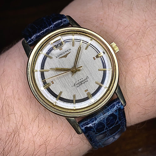 Rare 1960 35mm Longines Conquest Automatic watch, Reference 9026-3, Calibre 291