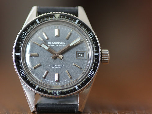 Vintage 1960's Blancpain Bathyscaphe divers watch Rayville calibre AS 1902