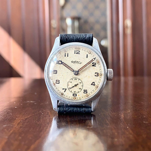 All original, 1940s Rotary ATP WW2 Military issue watch, rare example unmolested