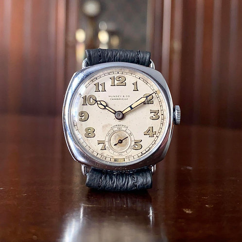 1930s Longines watch retailed by Munsey & Co Cambridge, cal.12.68z Serviced