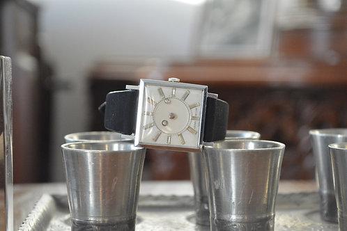 Louvic De Luxe mystery dial watch circa 1950