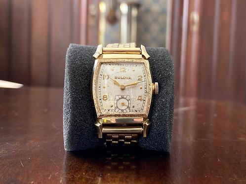 """1949 Bulova """"Cadet"""" watch, L1, case no.3405071, Cal. 10BE movement, 15 jewels"""