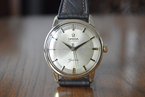 1962 Omega Geneve Automatic watch Pie pan style dial ref: 14702 SC - 61 serviced