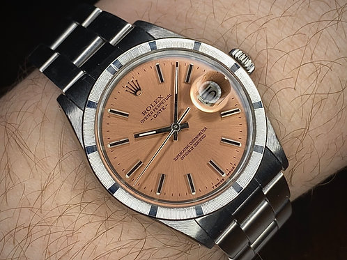 1970 Rolex Oyster Perpetual Date 1501, Salmon dial, Chronometer 1570 movement