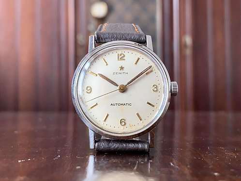 1950s Zenith dress watch cal. 133.8 movement bumper auto, all original