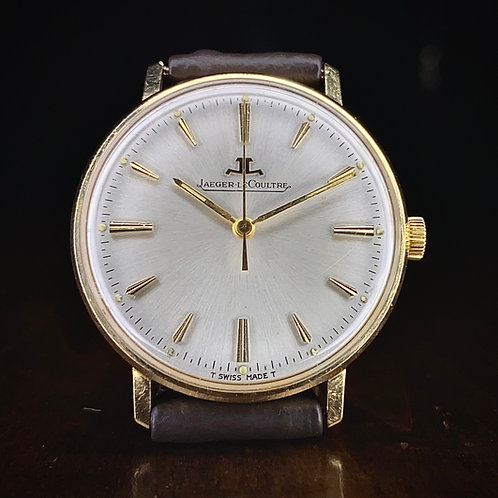 1960s 18ct gold Jaeger Lecoultre slim dress watch, 33mm K885 movement