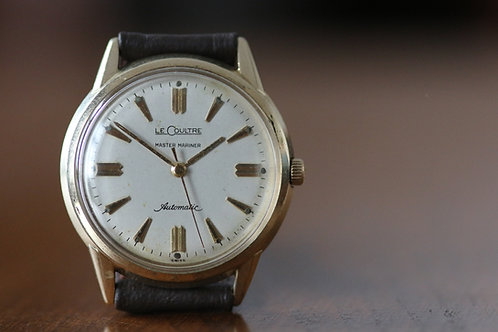 1950s Lecoultre Bumper Automatic dress watch serviced, cal 476 movement
