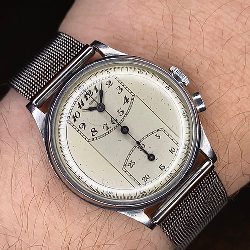 1930s Private Label Gallet Series 1 Multi-Chron Regulator Chronograph, Venus 140
