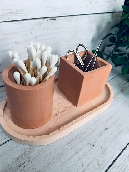 Set Of Two Pots - Various Colours