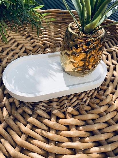 Plain Trinket Tray - Oval Various Shades
