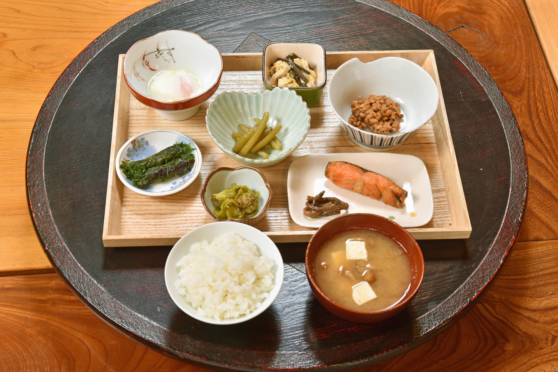 毎日食べても飽きない和食の朝食