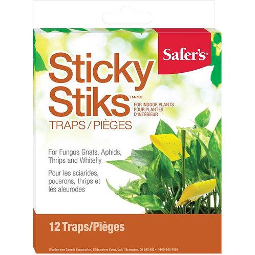 Safer's 12 Pack Sticky Sticks Insect Traps