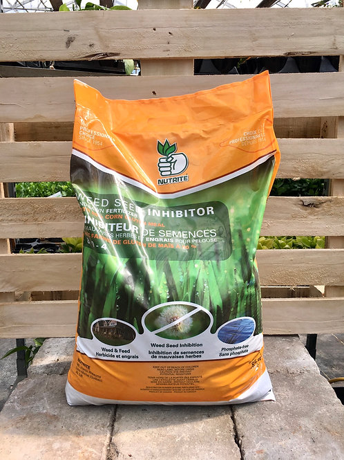 Weed Seed Inhibitor and Lawn Fertilizer, 9kg