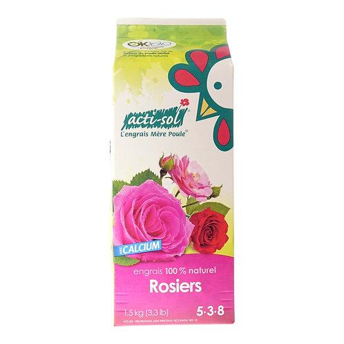 Acti-Sol Natural Fertilizer for Rose Bushes, 1.5kg