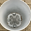 "Thumbnail: 14"" Hard Round Plastic Pot on Wheels"