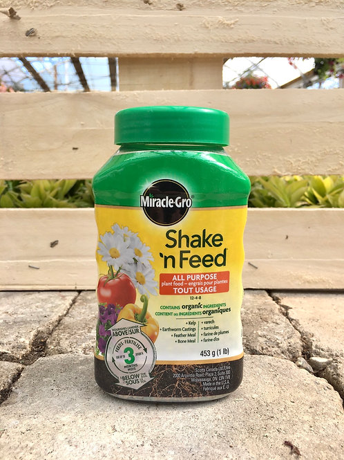 Miracle-Gro® Shake 'N Feed® All Purpose Plant Food (12-4-8)