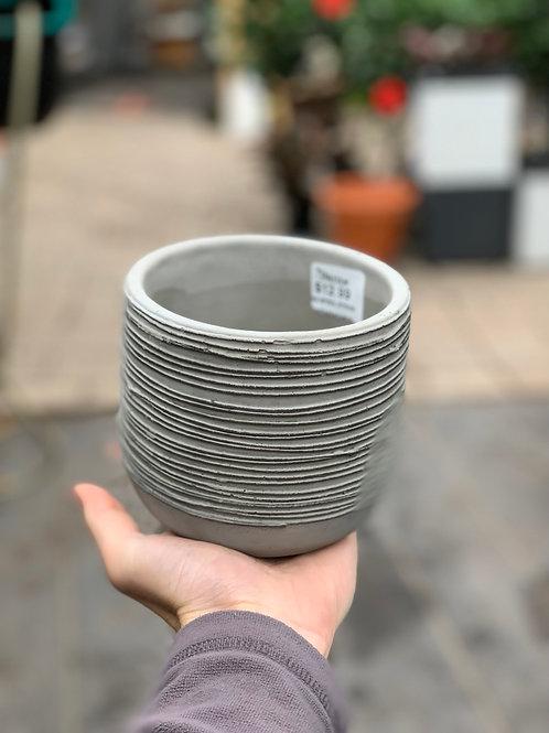 """4"""" Small Spiral Pot"""