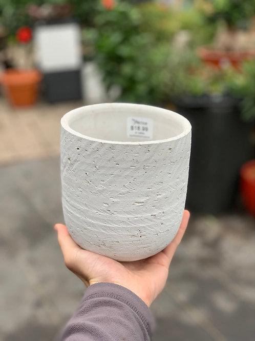 """5"""" Hera White Pot"""