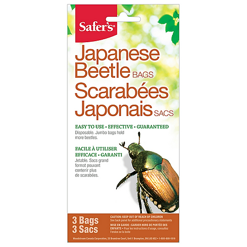 Safer's Japanese Beetle Replacement Bags - 3 Pack