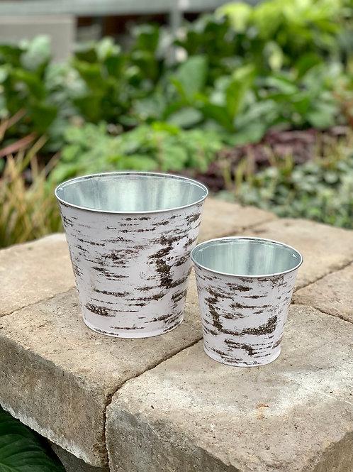 Birch Tin Pot Cover
