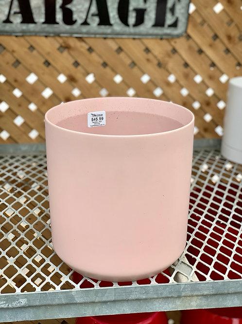 """8"""" Kendall Pink Ceramic Pot"""