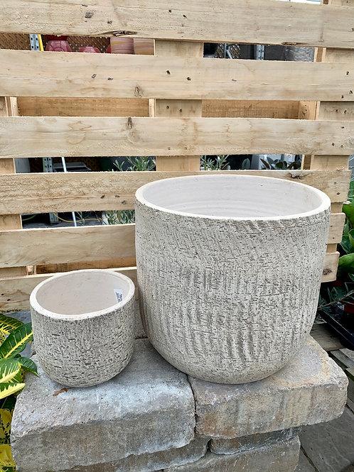 Portland Bark Look Pots