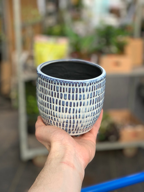 "4"" Jupiter Ceramic Pot"
