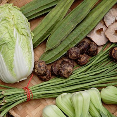 Asian Vegetables Collection Seeds