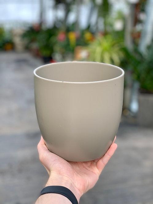 """6"""" Basel Fashion Brown Ceramic Pot"""