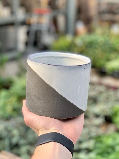 "4"" Deuce Ceramic Pot"