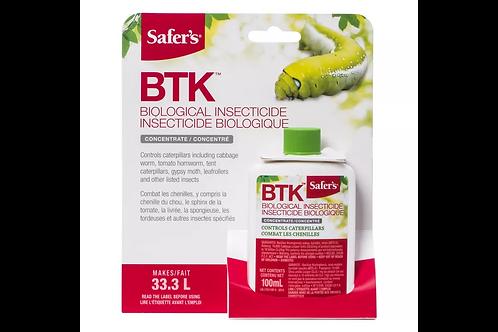 Safer's BTK Insecticide, 100-mL