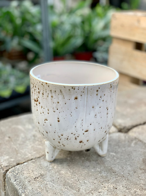 "6"" Reid Ceramic Footed Pot"