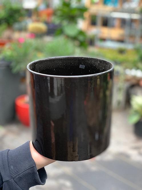 """6"""" Cercle Black Pot"""