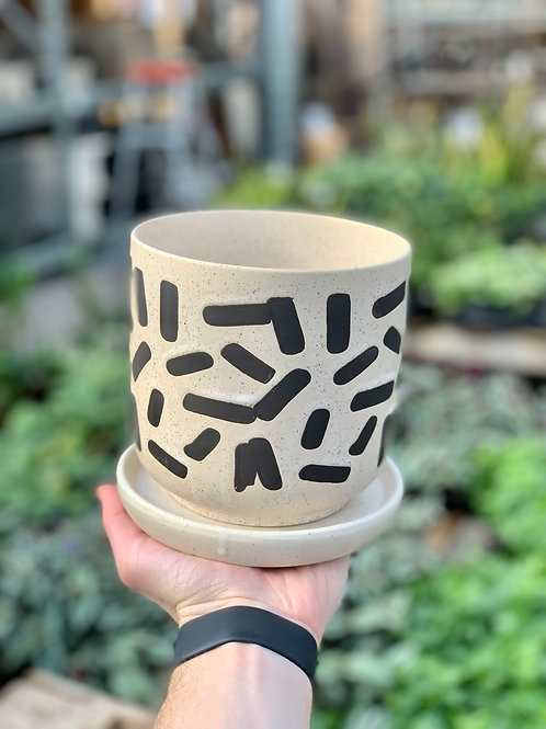 """5"""" Sundae Ceramic Pot"""