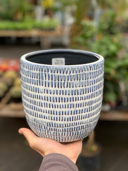 """6"""" Jupiter Ceramic Pot"""