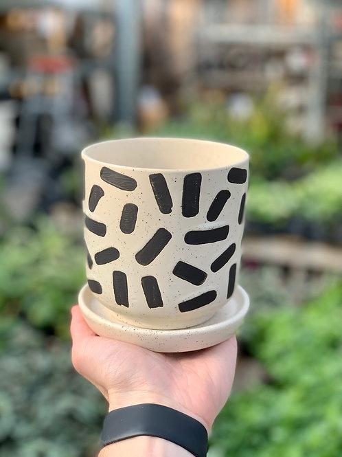 """4"""" Sundae Ceramic Pot"""