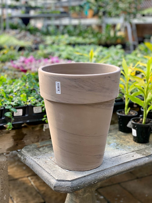 """9"""" Tall Basalt Clay Pot"""