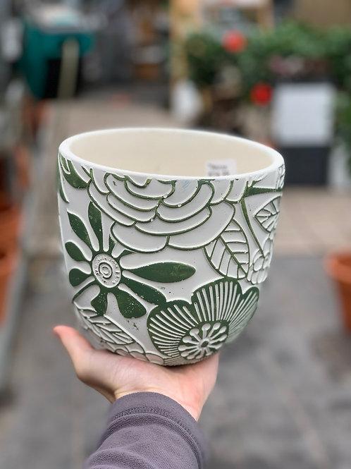 """6"""" Hippie Flower Pot"""