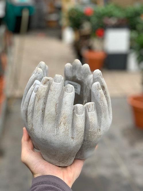 Tall Hands Planter