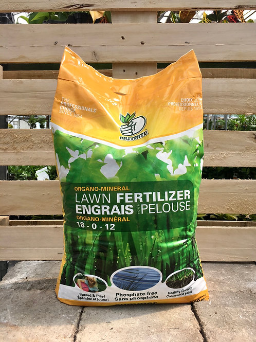 Organo-Mineral Summer Lawn Fertilizer, 9Kg