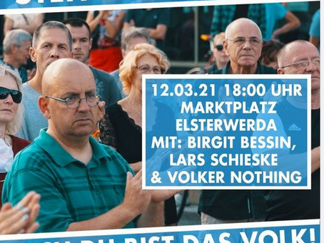 #Demo Abend am Freitag in #Elsterwerda