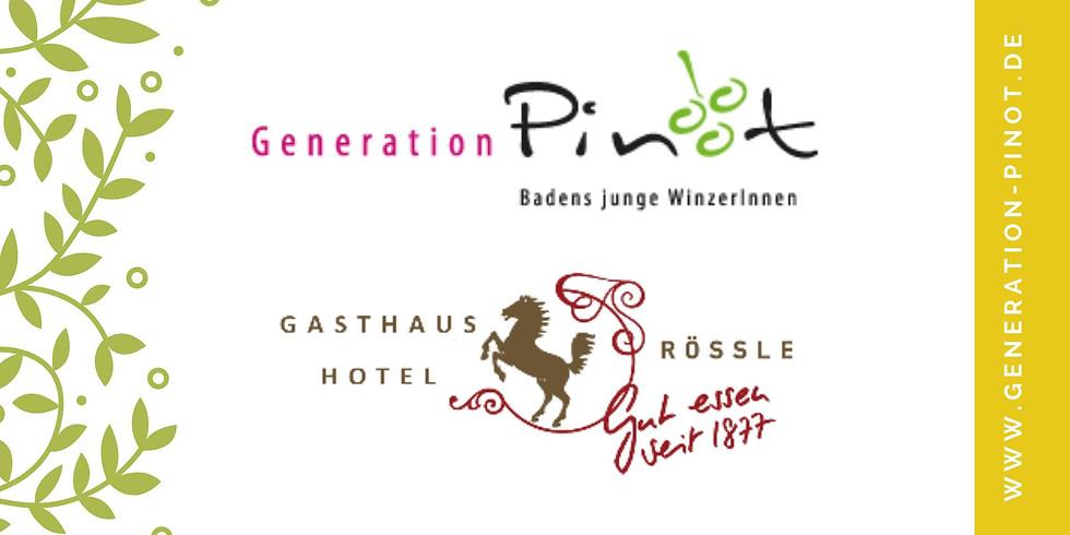 Gasthaus Rössle & Generation Pinot / Kochkurs mit Weinprobe