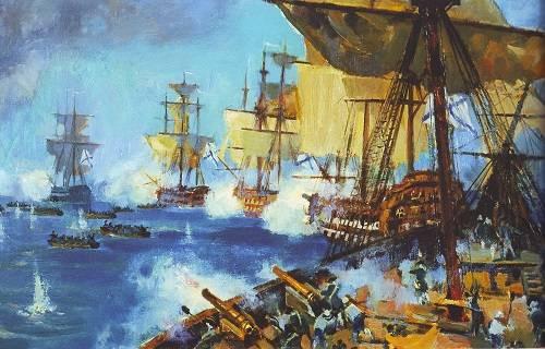 03 марта 2021 года - памятная дата военной истории России - Штурм острова Корфу 3 марта 1799.