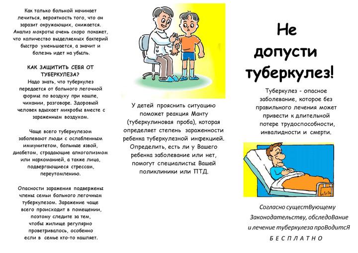 ПРОФИЛАКТИКА ТУБЕРКУЛЕЗА.