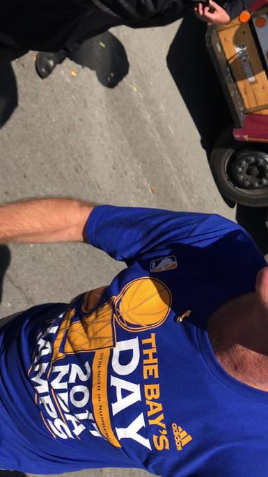 coach kerr parade selfie video.MOV